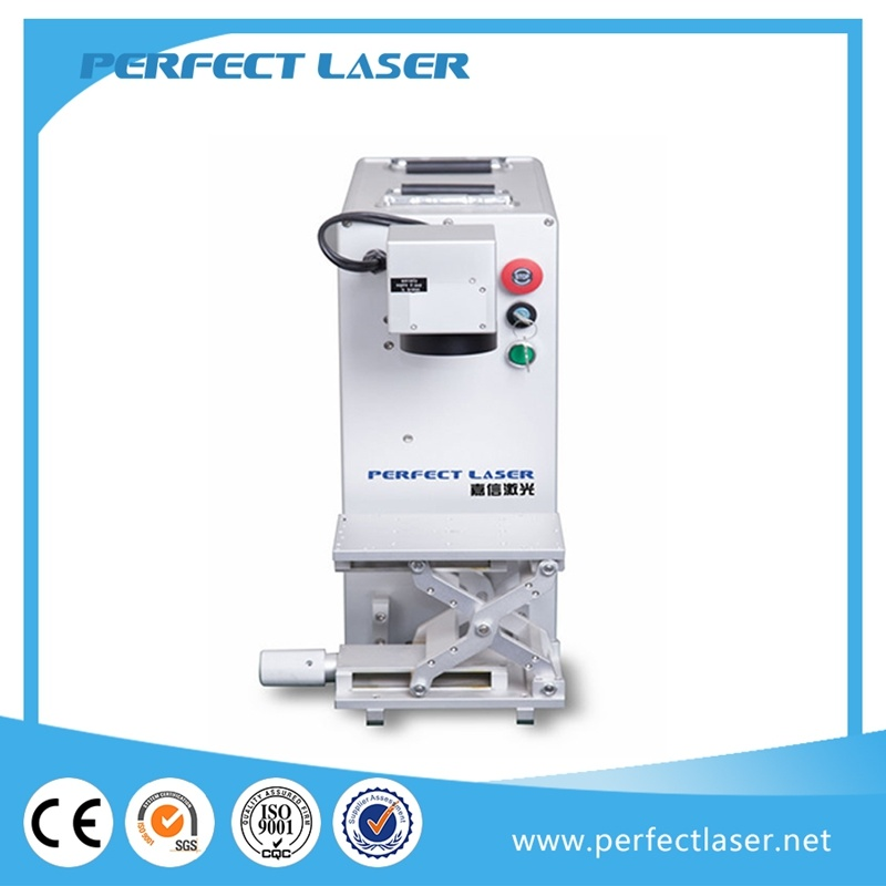 2017 Hot Sale Portable 20W 30W 50W Metal Fiber Laser Machine Price with Rotary System