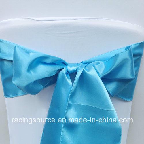 Wedding Ornament Chair Ribbon Satin Chair Cover Sashes
