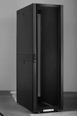 Network Cabinet with Flat Mesh Door