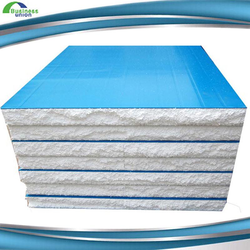 High Quality Color Steel EPS Foam Sandwich Panels on Sale