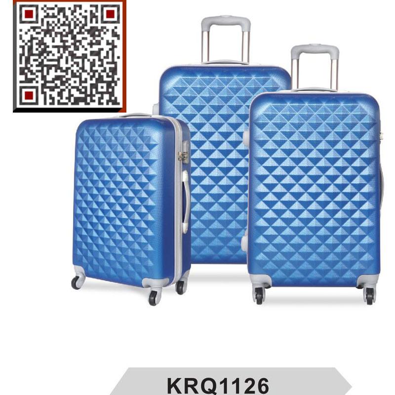 Hot Sale ABS 3PCS Hard Travel Trolley Lugagge