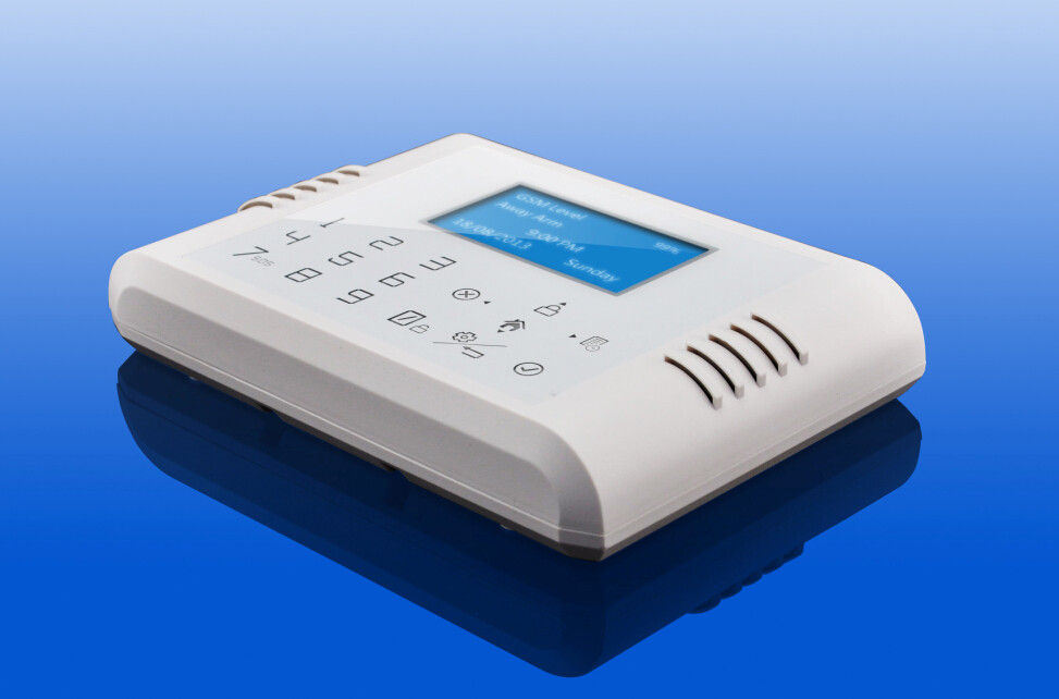 APP Operation GSM and PSTN Dual Net Intrusion Alarm System with LCD Display