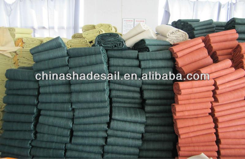Dark Green Color for HDPE Fabric Garden Sun Shade Sail (Manufacturer)