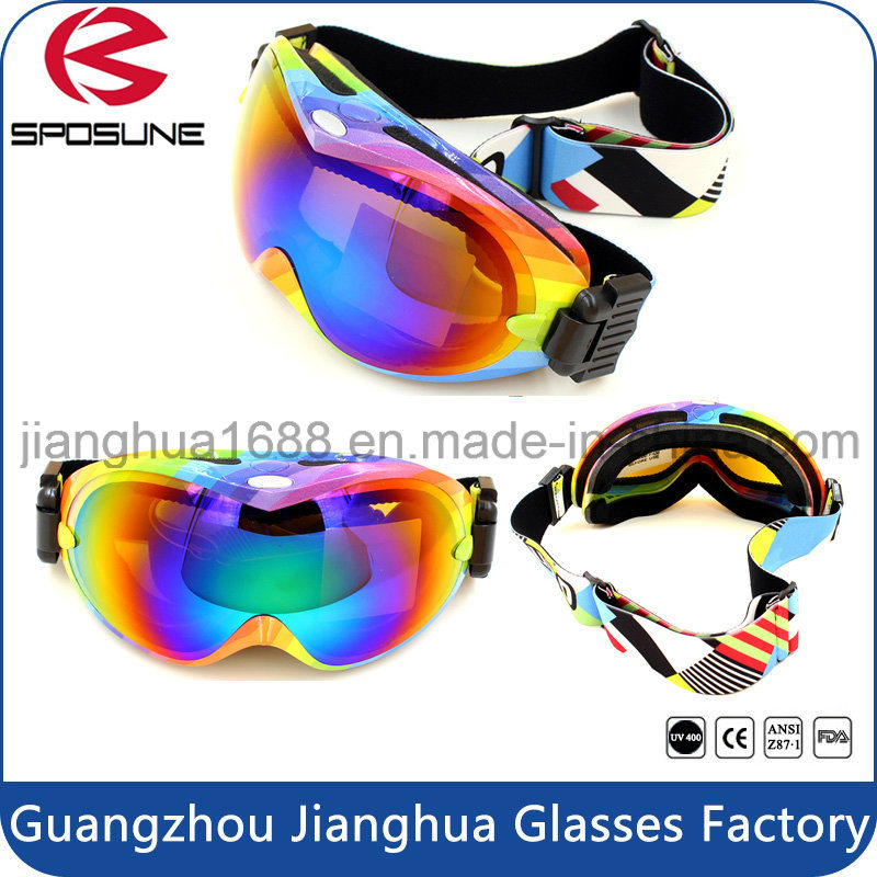 Custom Sport Equipment Promotion Anti Fog Snow Skateboard Goggles Bulk Buy UV Protective Airsoft Skiing Safety Goggle