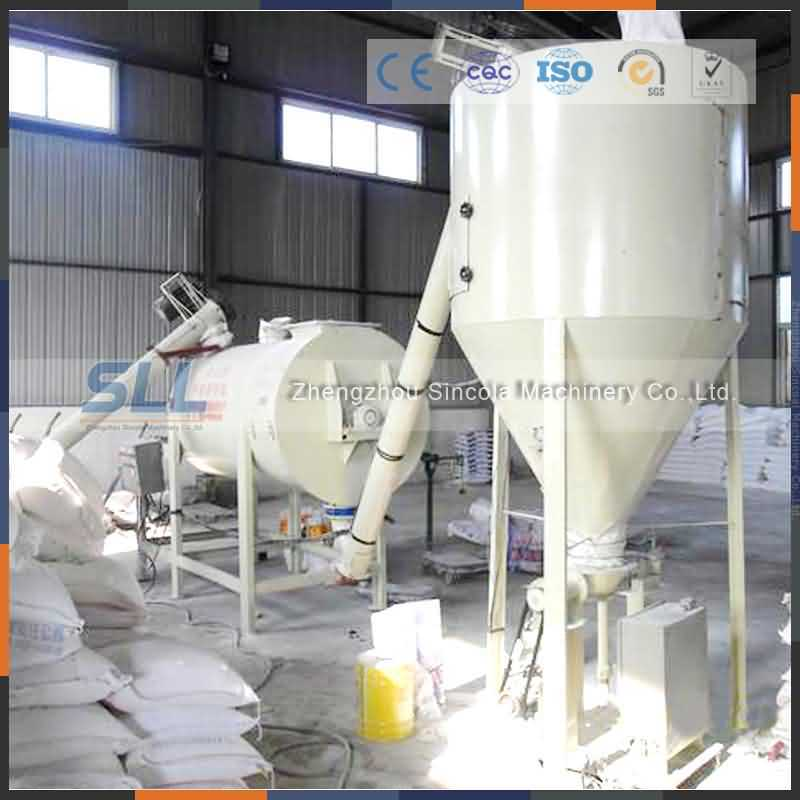 Manufacturer of Small Dry Mortar Batch Plant in China
