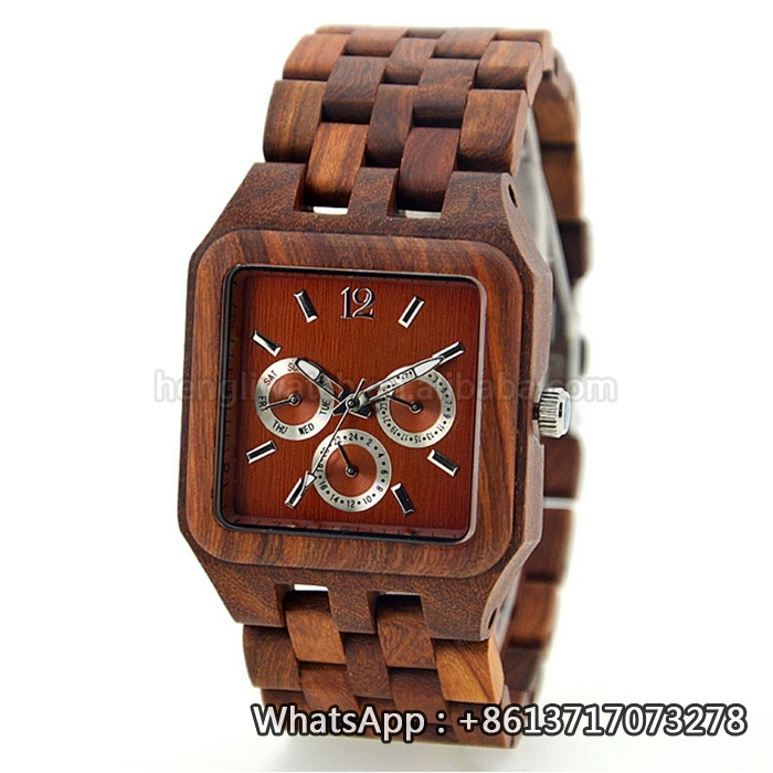 New Environmental Protection Japan Movement Wooden Fashion Watch Bg149
