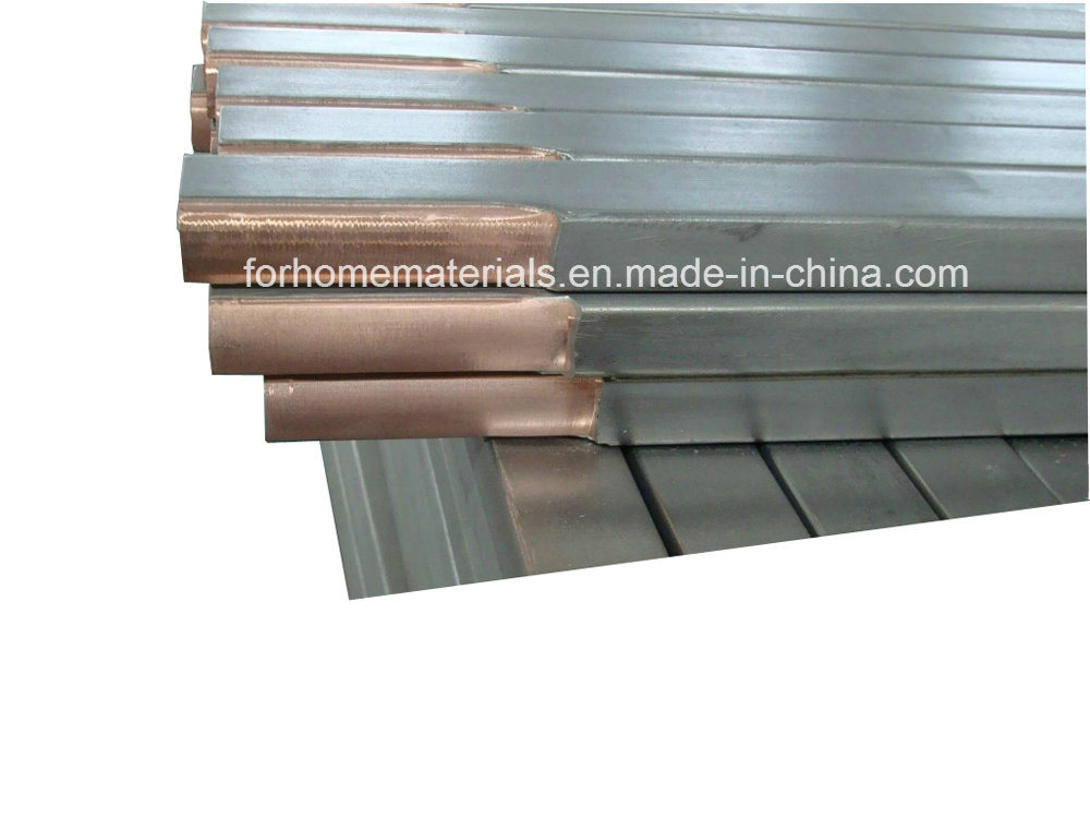 Stainless Steel Clad Copper Electrode Bar
