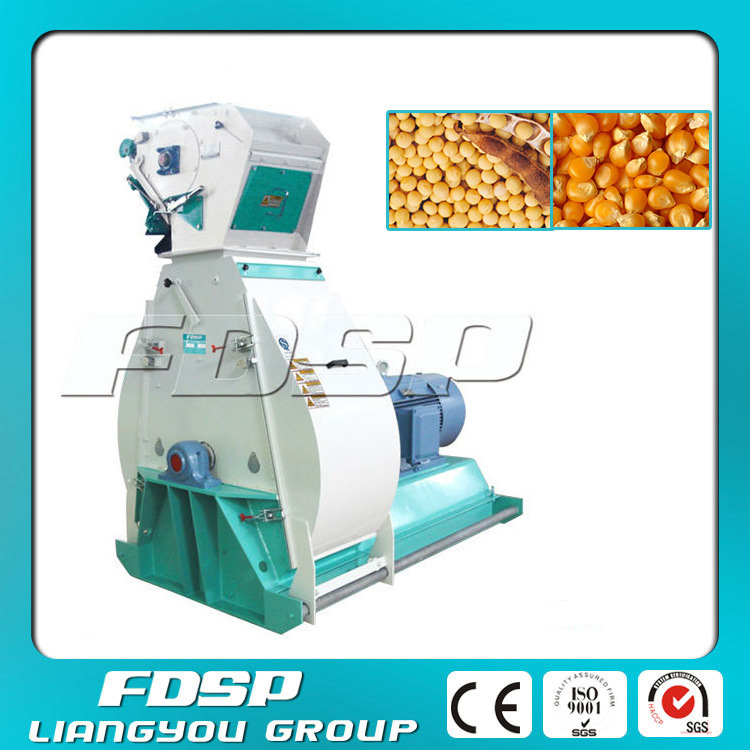Poultry Feed Mill Equipment for Grinding Soybean, Corn, Wheat