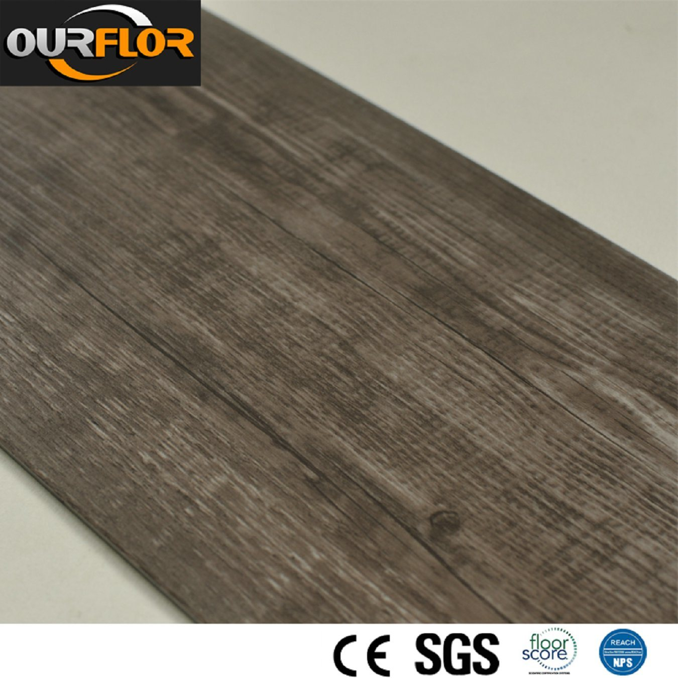 PVC Vinyl Floor Tiles/ PVC Flooring/ Plastic Flooring with Thickness of 2mm, 2.5mm, 3mm