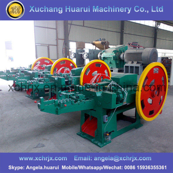 Low Noise High Speed Durable Nail Production Line Automatic Wire Nail Making Machine Price