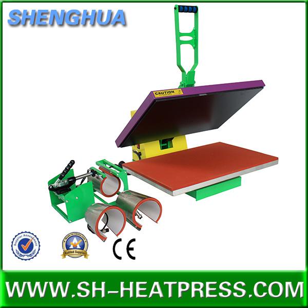 2 in 1 High Pressure Heat Press Machine with Mug Heat Press Accessory
