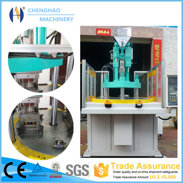 Advanced Technology Vertical Rotary Injection Moulding Machine