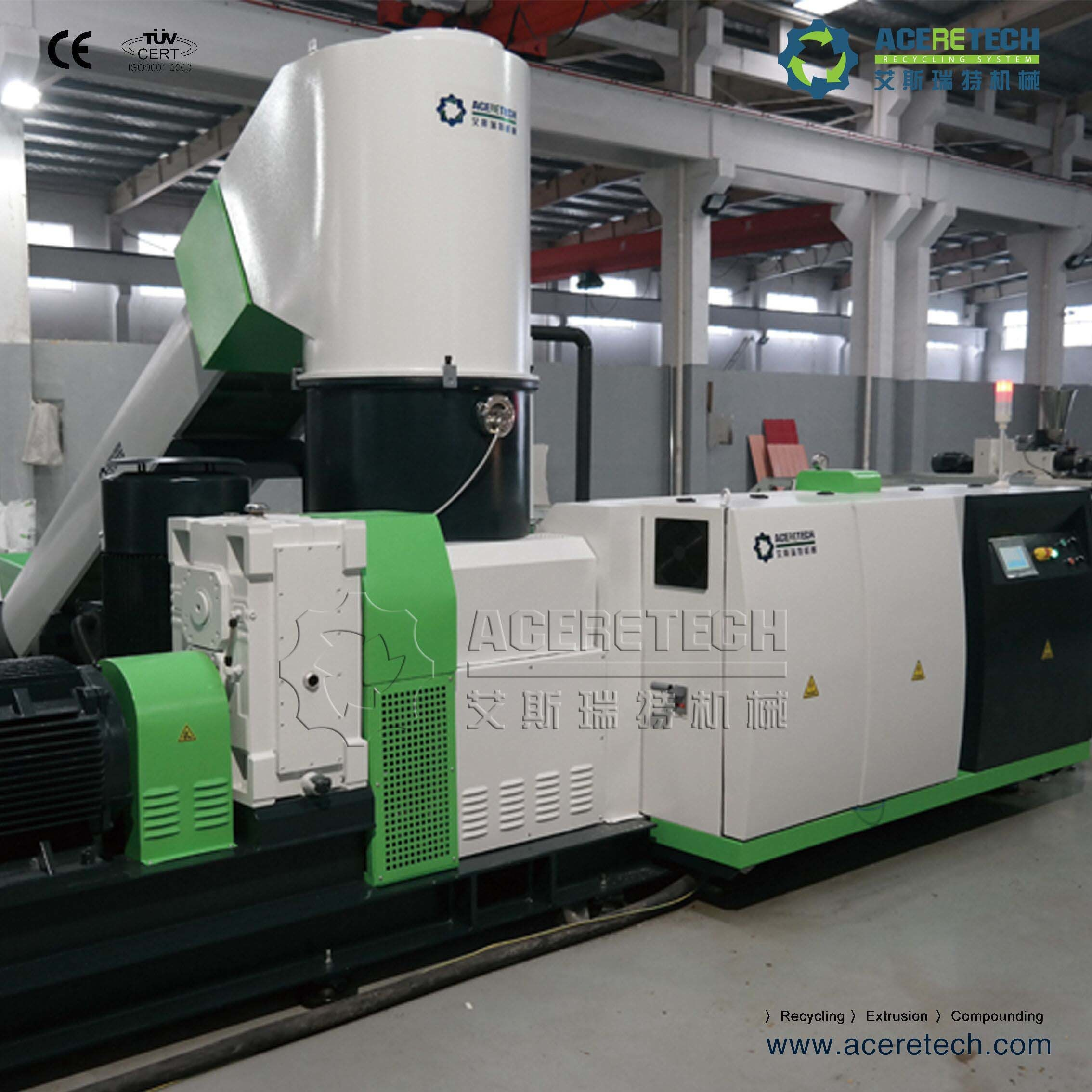 Full Automatic Pelletizing Machine for Heavy Printed PP/PE/PA/PVC Film