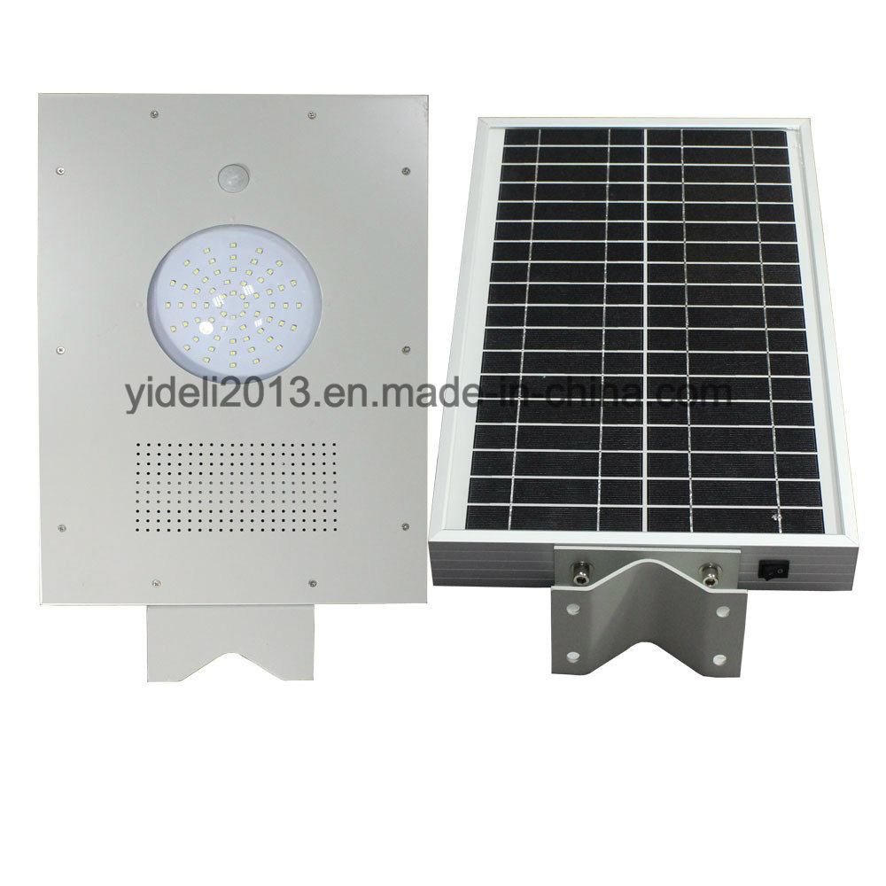 Outdoor Luminaria All in One / Integrated LED Solar Powered Street Light with Motion Sensor (YDL-5W-200W)