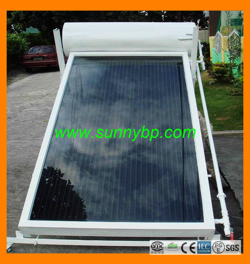 Solar Power Flat Panel Solar Water Heater
