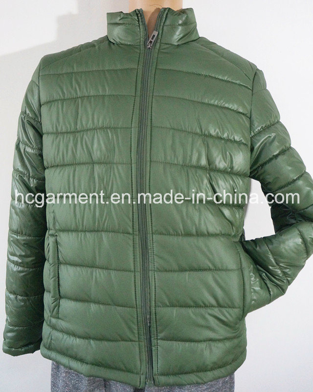 Promotional Gift Warm Casula Cotton Overcoat Jacket for Man