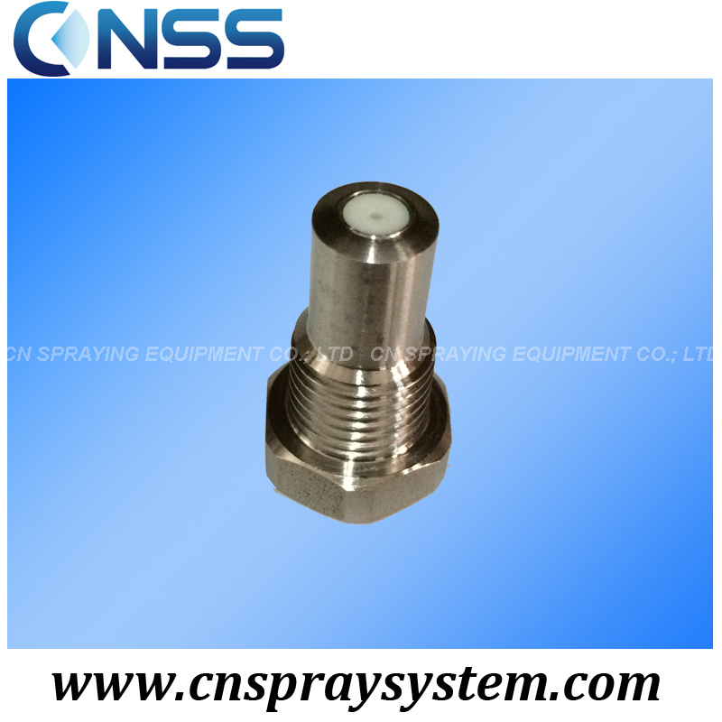 1/8 Dome Nozzle with Solid Stream Spray for Cleaning Paper Machine