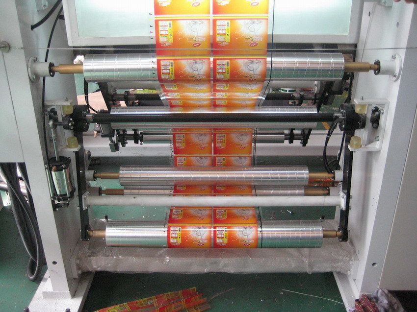 Rotogravure Printing Machine with Max. Printing Speed of 250m/Min