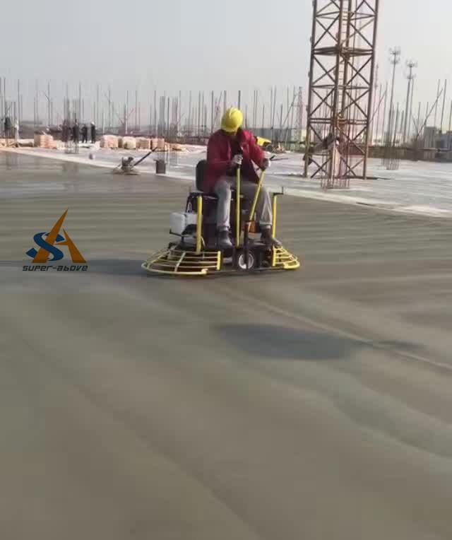 Ride on Vibrating Trowel Machine, Concrete Ride on Power Trowel