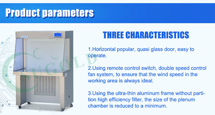 Class 100 Clean Bench Laminar Flow Cabinet