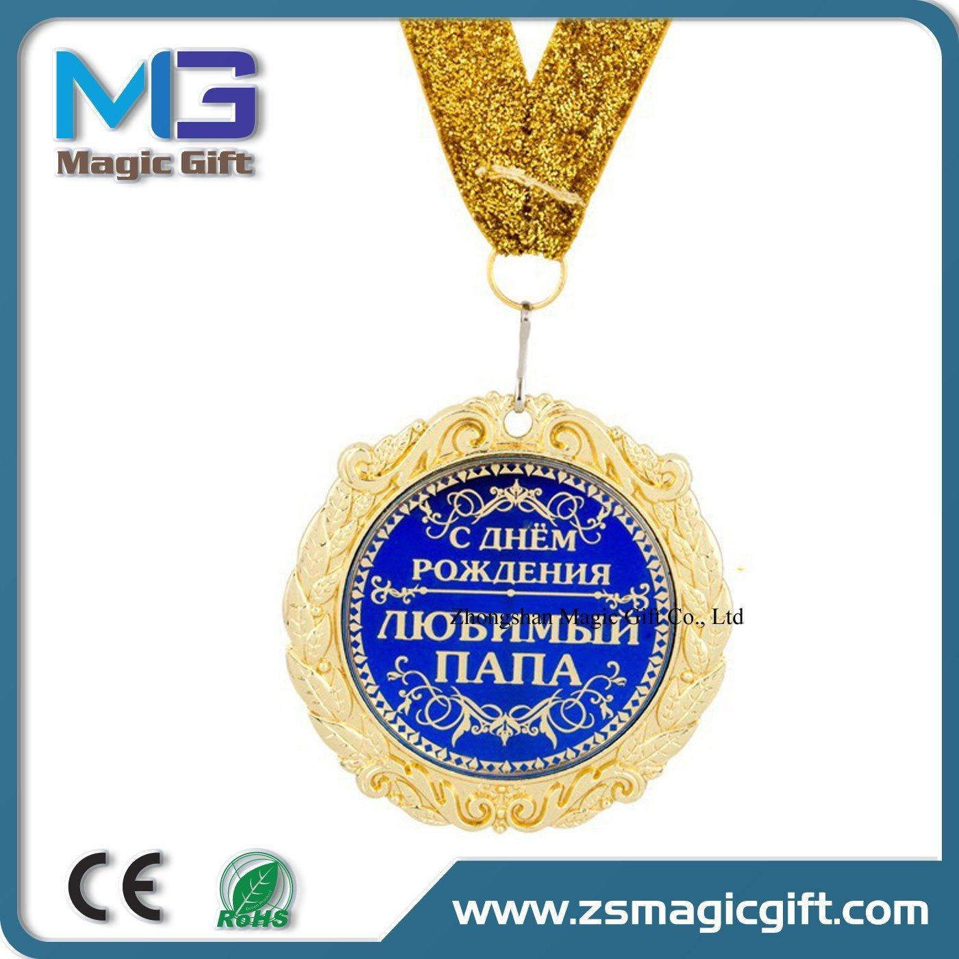 Promotional Cheap Metal Crafts Souvenir Medal Gift