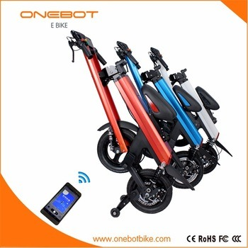 250W 500W Folding Electric Bike Convenient Eco E Scooter