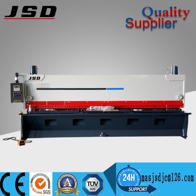 Jsd 4m Guillotine Plate Cutting Machine for Sale
