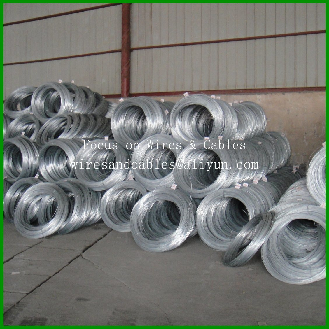 Galvanized Stranded Steel Wire for Telecommunication Cables