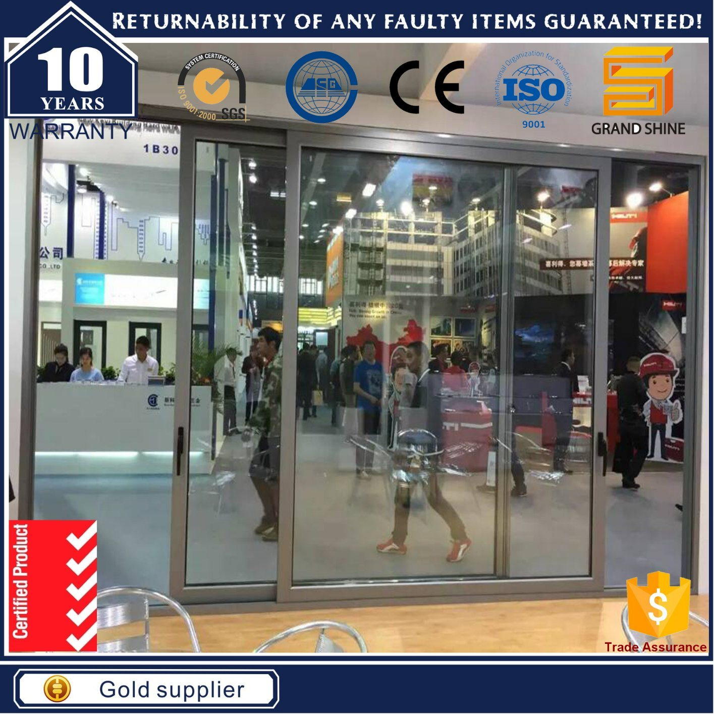 Automatic Industrial Lift and Sliding Door with Best Factory Price