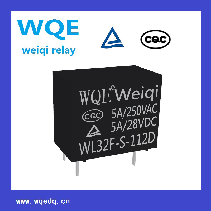 Wl32f Miniature Size 5A Power Relay for Household Appliances &Industrial Use