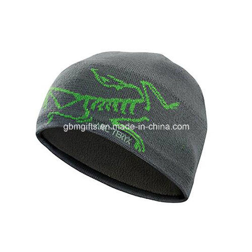2016 New Style Custom 100% Cotton 3D Embroidery Beanies