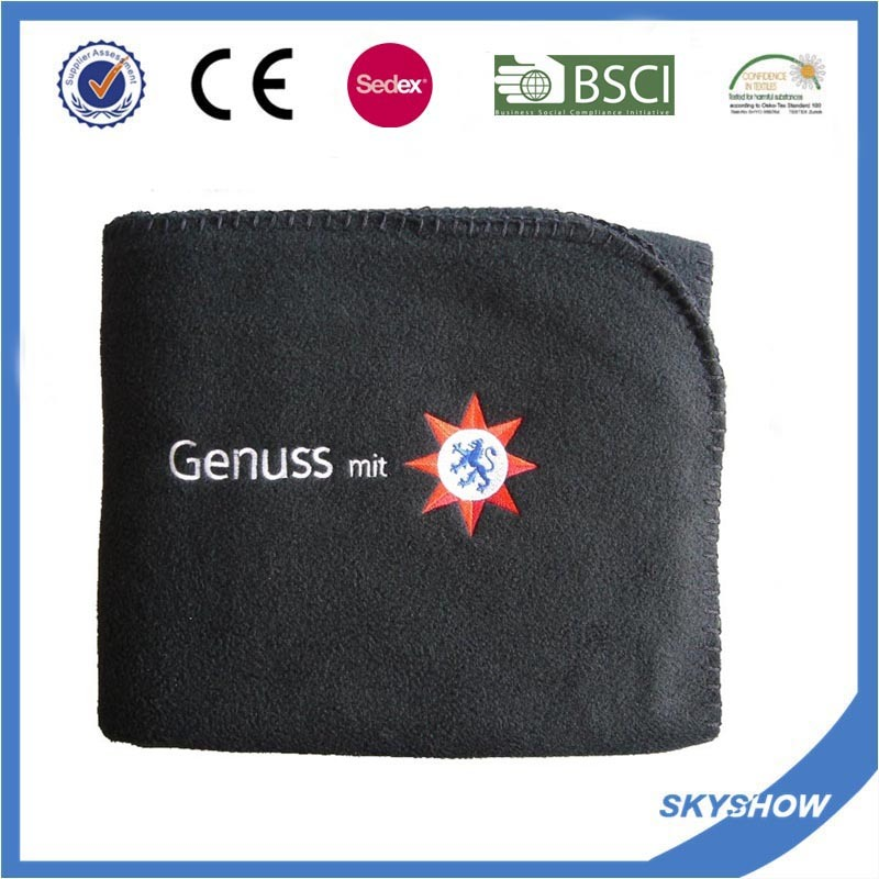Customized 100% Polyester Polar Fleece Blanket (SSB0104)