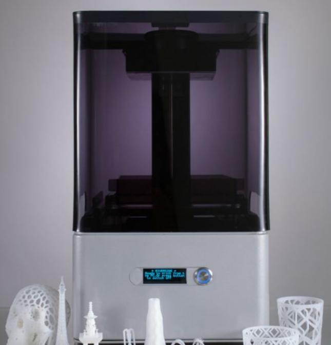 Factory 0.1mm Precision Desktop Wax Resin 3D Printer for Dentist