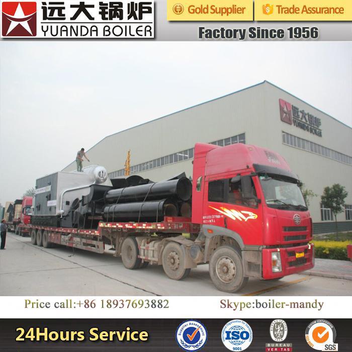 2ton China Professional New Wood Pellet Husk Sawdust Palm Oil Shell Biomass Fired Horizontal Steam Boiler