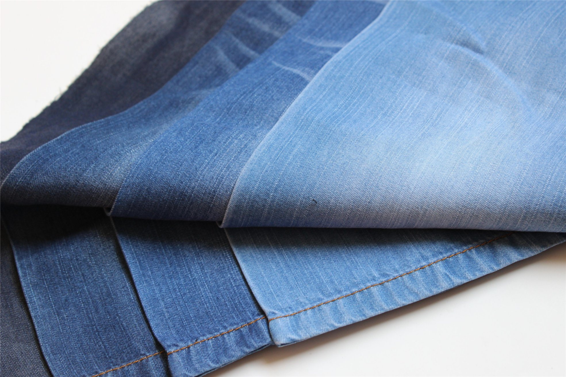 100% Lyocell Indigo Denim for T-Shirt