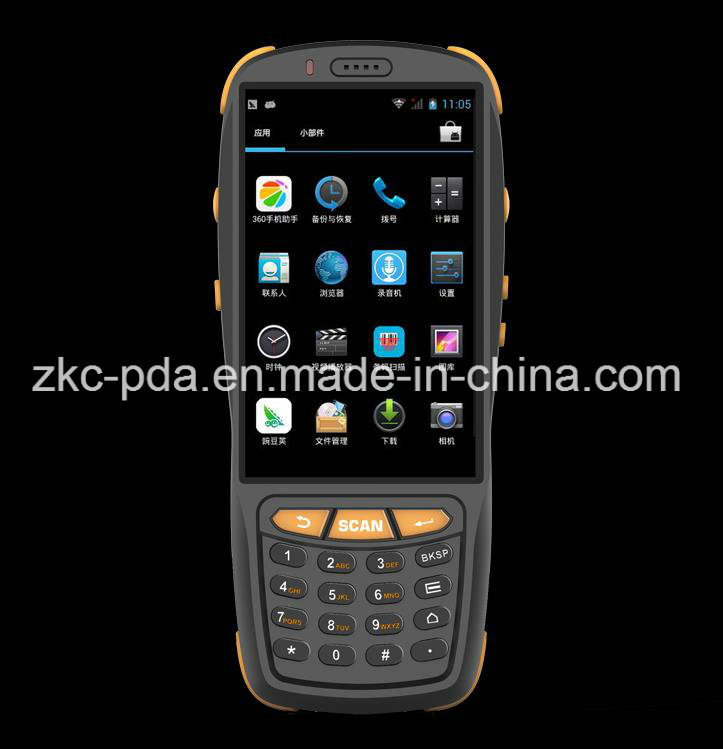 Android 5.1 4G Mobile Barcode Scanner Handheld POS Terminal