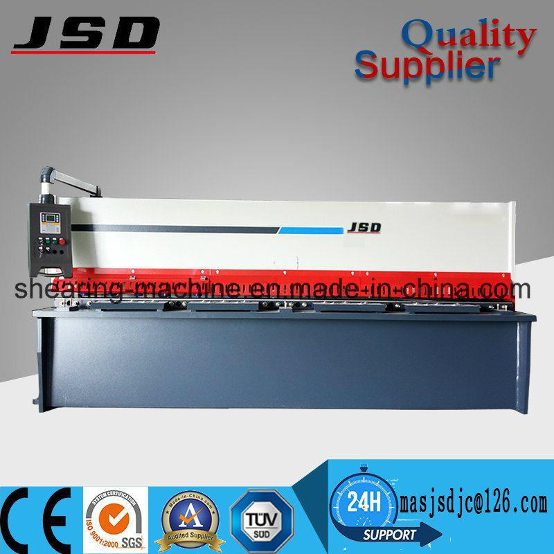 QC12k Series 6mm CNC Swing Beam Shearing Machine