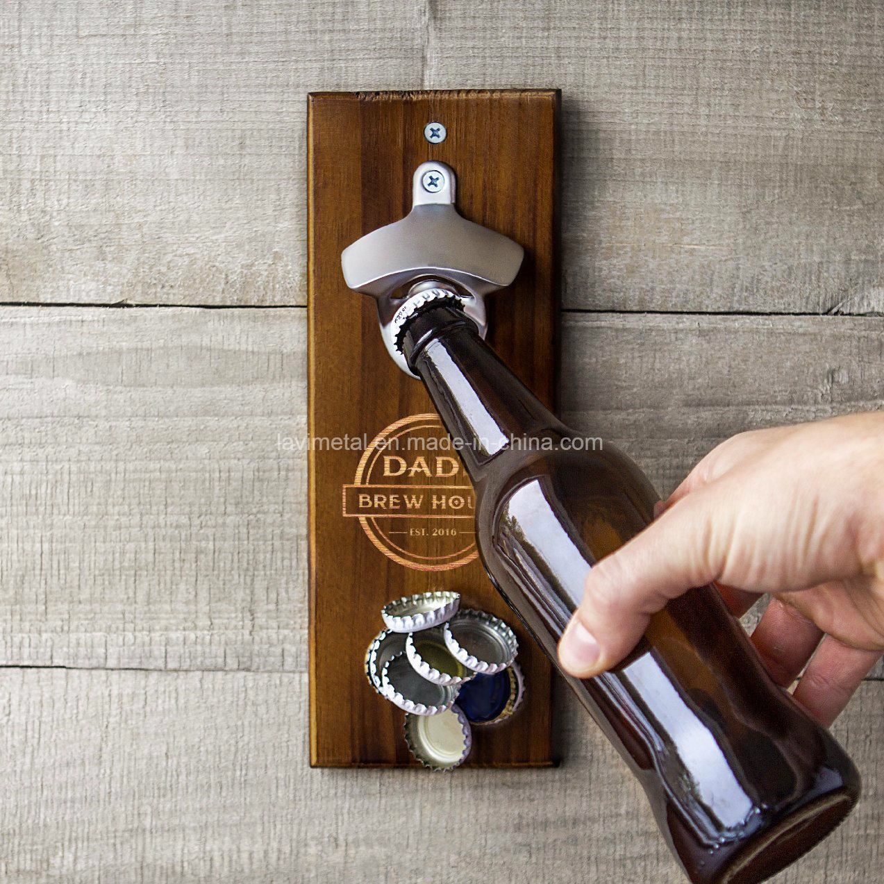 Promotional Cheap Custom Blank Cast Iron Metal Beer Wall Mount Keychain Bottle Opener Parts