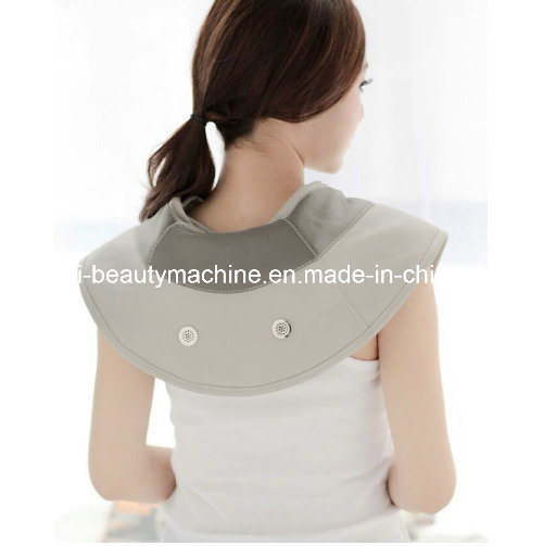 Tapping/Vibrating Neck & Shoulder Infrared Heating Massage Wrap Electronic Massager 20 Kinds Massage Functions Ce. RoHS Certified