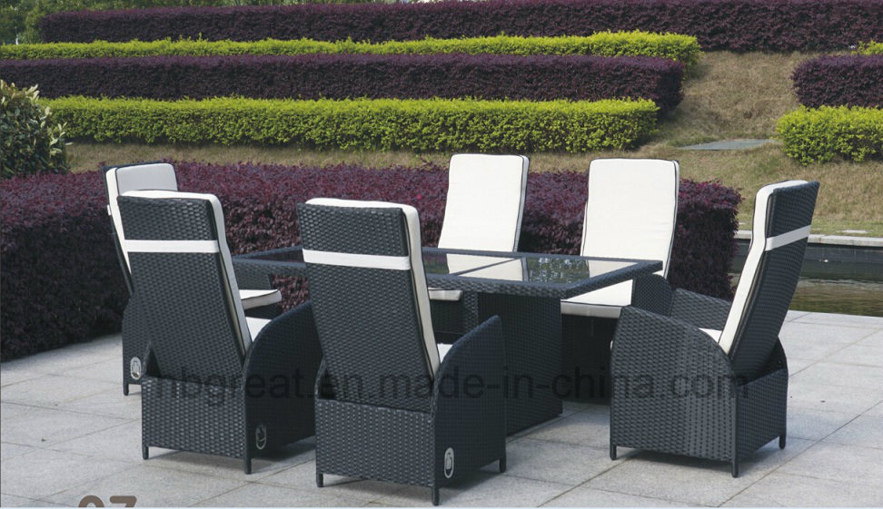 Outdoor Rattan Dining Table Furniture Set, The Best Sofa for Sex Glass