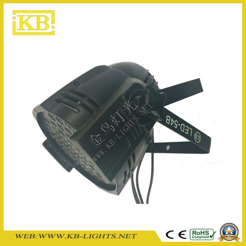 High Performance 54*3W RGBW Indoor LED PAR Light