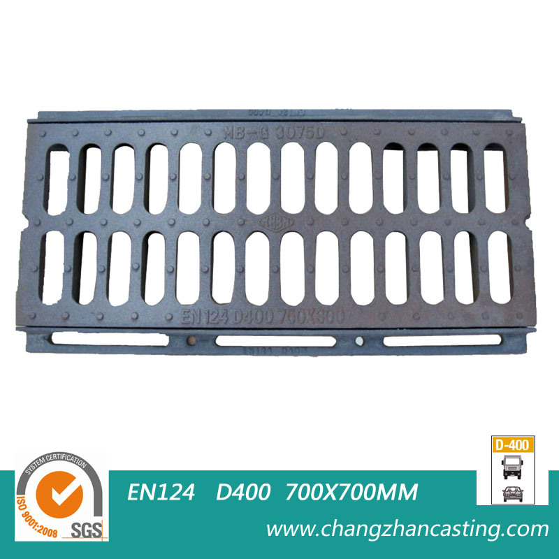 E600 Heavy Duty Ductile Iron Gully Gratings