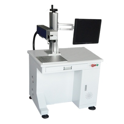 20W Fiber Laser Labling Machine for Marking Barcode