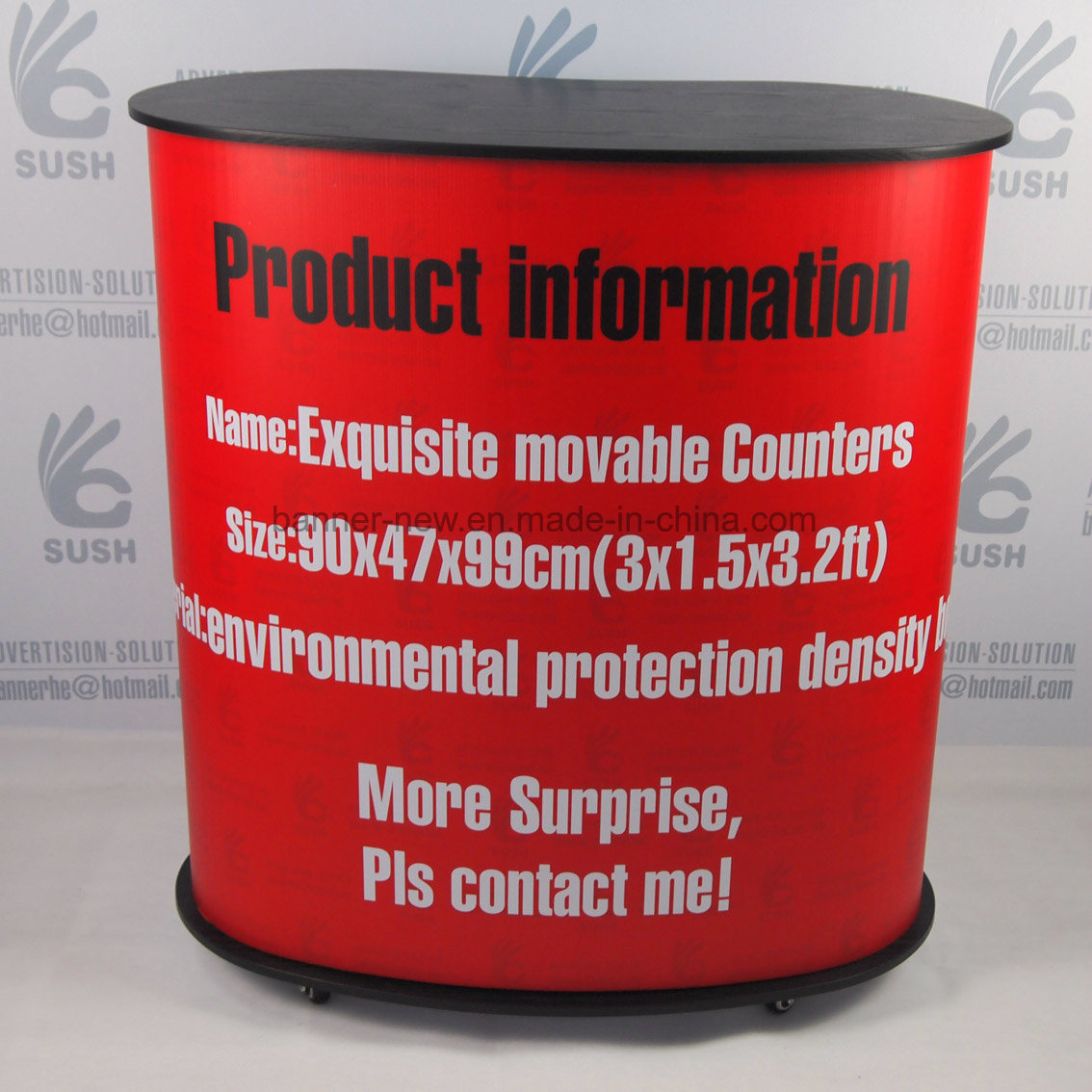 Hot Easey Change Banner Pop up Removable Counter