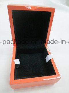 Veneer Wood Piano Lacquer Wooden Box Slick Jewelry Box