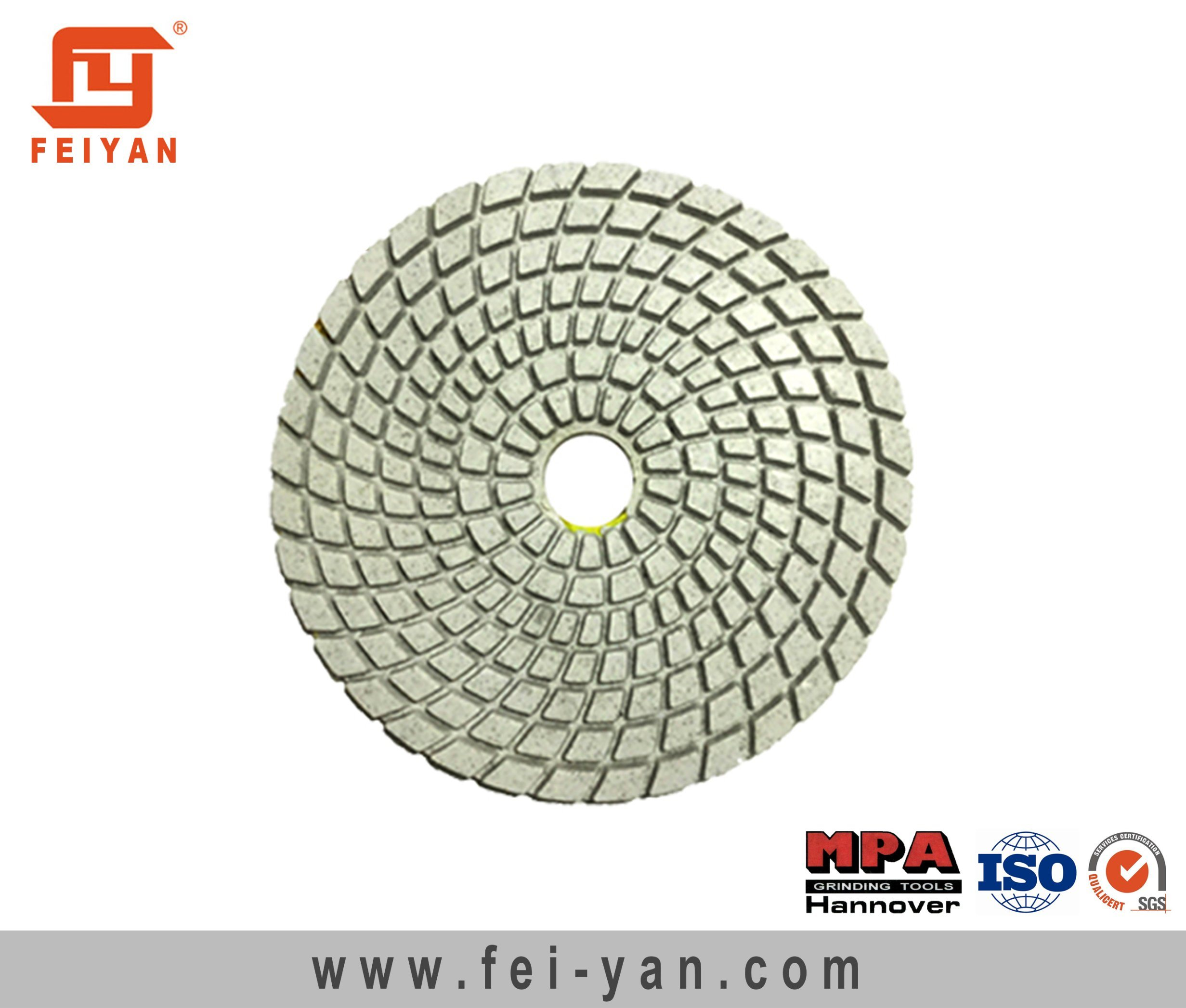 7-Step Wet Polishing Pad for Stone