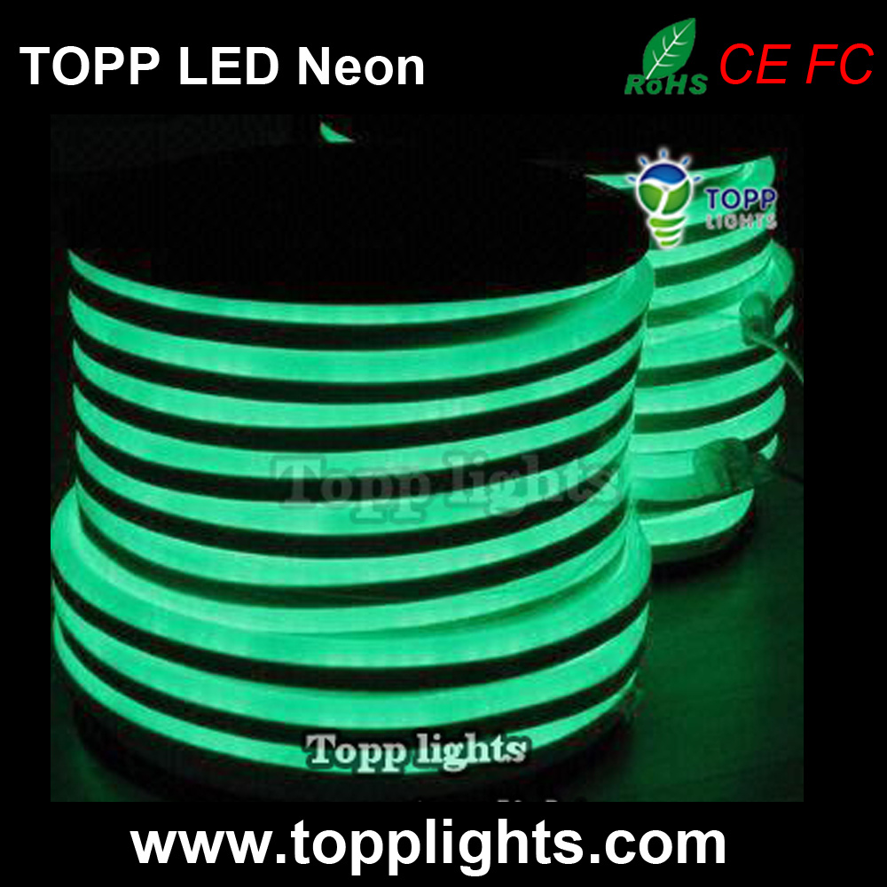 Neon Lights Item Type and Green Emitting Color LED Neon Light