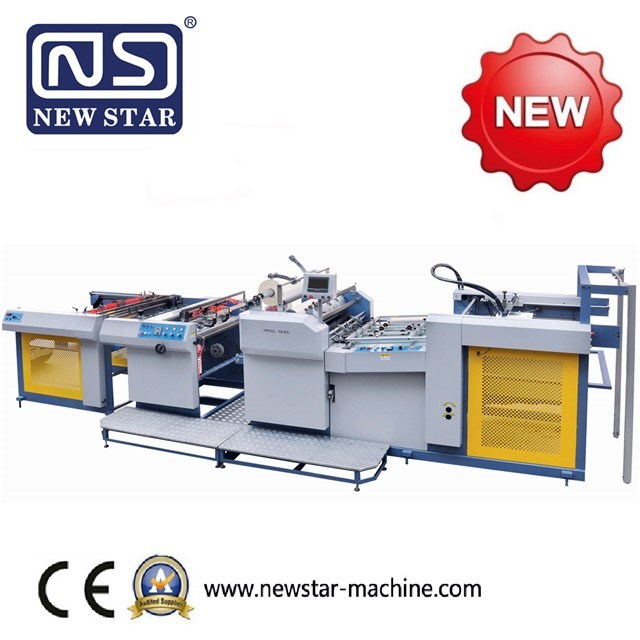 Yfma-920/1050A New Star Electromagnetic Heating Fully Automatic Laminator