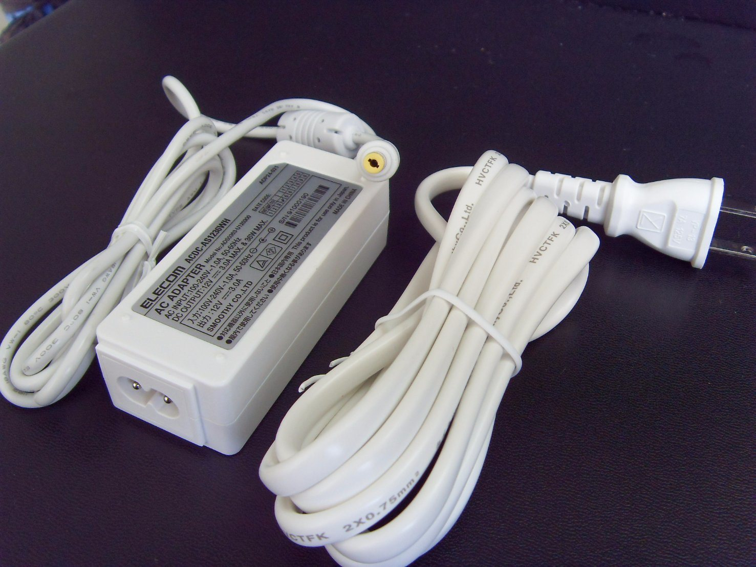 for Asus 12V 3A PC Laptop AC Adapter Power Supply Charger White