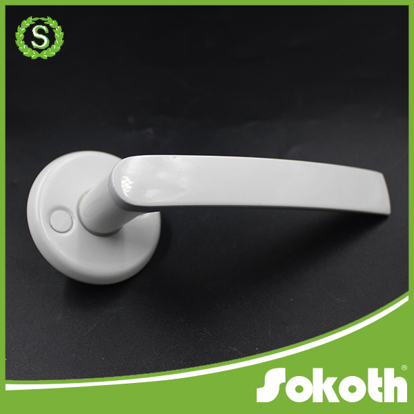 Russian Market Aluminum Alloy Door Handle for Bedroom